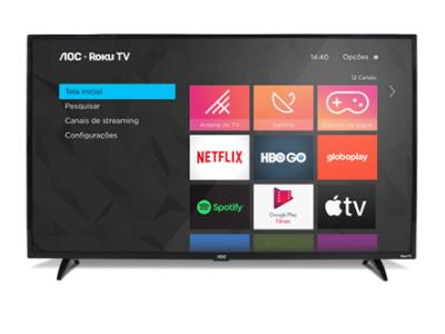 43S5195/78G - SMART ROKU TV FULL HD